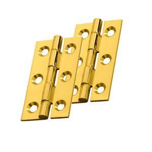 Polished Brass Cabinet Hinge